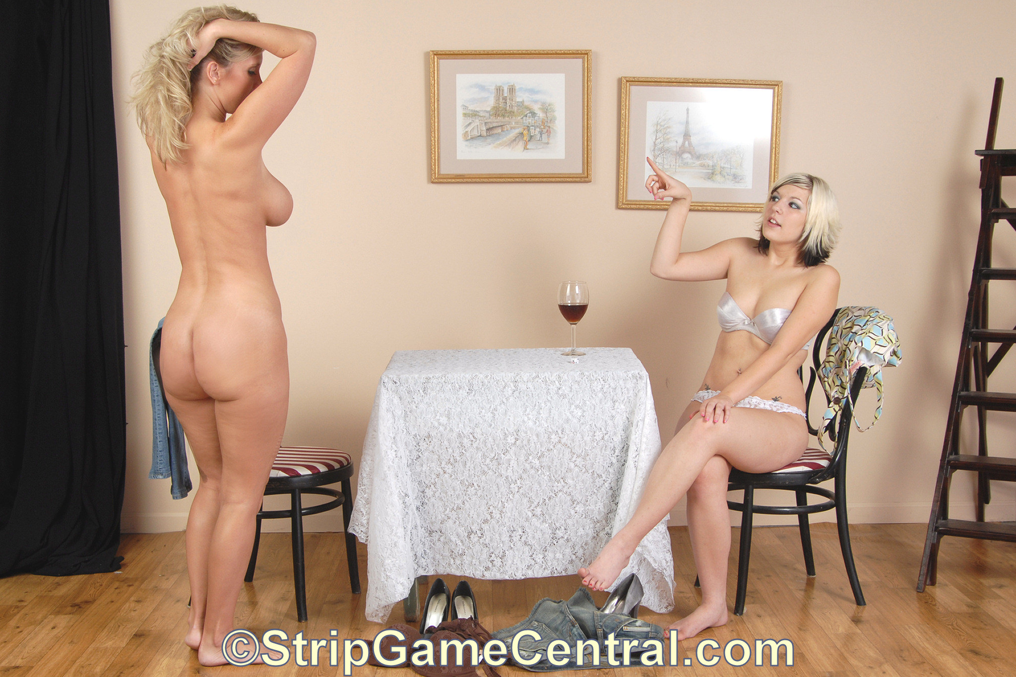 from Derrick naked woman in games