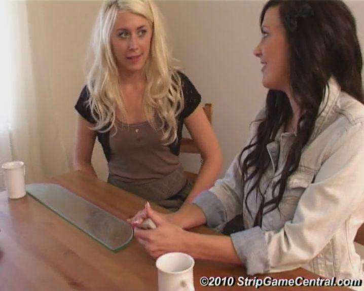 Bex, Charlotte & Debz play Strip Sudden Death on video