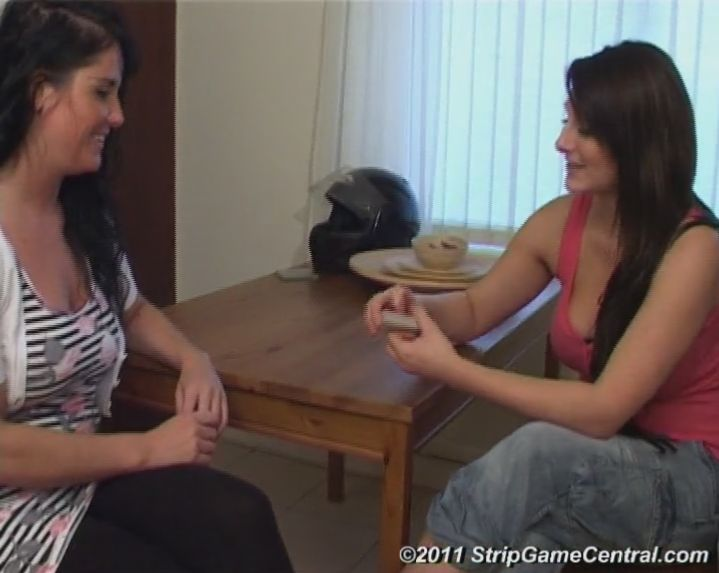 Demi & Michelle play Strip Sudden Death on video